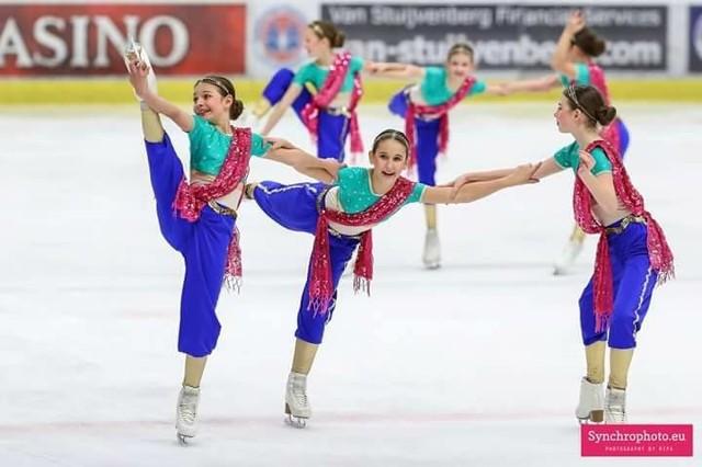 Dziewczęta z Le Soleil odnoszą sukcesy w całej Europie.