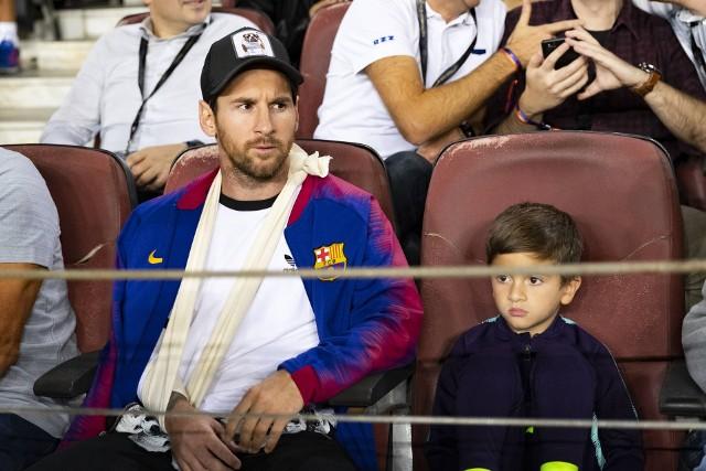 Pod nieobecność Messiego Barcelona pewnie pokonała Inter