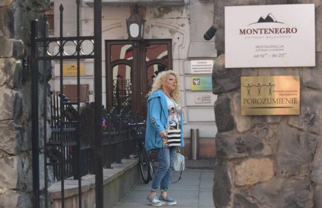 Magda Gessler przeprowadziła Kuchenne rewolucje w restauracji Montenegro w Łodzi.