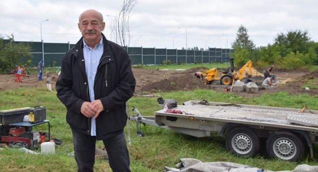 - Już nie możemy doczekać się finału inwestycji realizowanej w ramach budżetu obywatelskiego - mówi radny Zbigniew Hybik.
