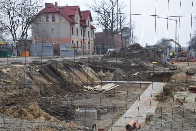 Budowa centrum przesiadkowego w Pszczynie