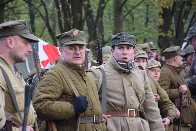 Na planie bitwy można było zobaczyć grupy rekonstrukcyjne z całej Polski