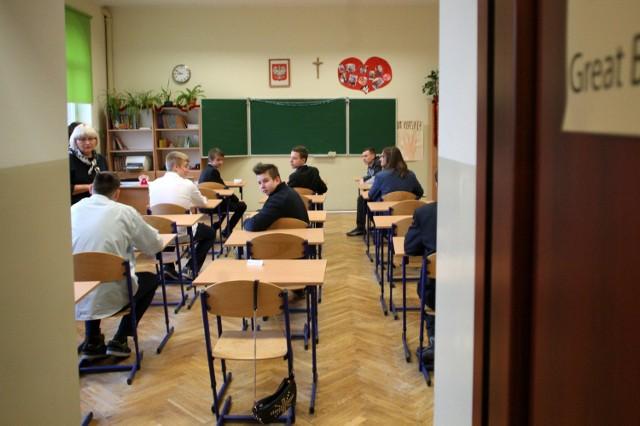 Gimnazjum nr 2 w Sopocie - próbny egzamin gimnazjalny 2014/2015 z Operonem