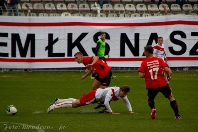 Jakub Ryplewicz w okresie zimowym pożegnał się z ŁKS-em i od wiosny gra w barwach Startu Brzeziny.