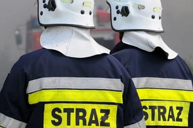 Na miejscu pracowało pięć zastępów straży pożarnej