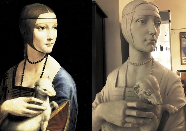 Audiodeskrypcja (werbalny opis treści wizualnych osobom niewidomym i słabowidzącym) tylko w ograniczonym stopniu pozwala uczniom niewidomym wyobrazić sobie obraz danego artysty. Co innego, gdy obraz zostanie przedstawiony w formie rzeźby, którą można dotknąć, poznać dłońmi każdy jej szczegół