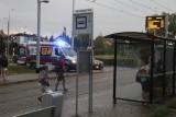 Kobieta podpaliła się na pętli tramwajowej we Wrocławiu. Ciężko ranna trafiła do szpitala