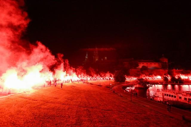 Kibice Cracovii uświetnili jubileusz 115-lecia klubu