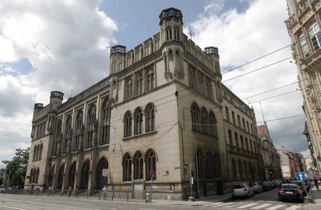 Gmach Nowej Giełdy przy ulicy Krupniczej we Wrocławiu.