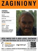 Zaginął Andrzej Słodziński. Może go widziałeś (ZDJĘCIE)