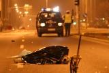 Kierowca potrącił pieszego i uciekł z miejsca wypadku... razem ze zwłokami!