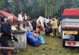 Potężna burza spustoszyła obóz harcerzy ze Śląska. Drzewa zmiażdżyły namioty. Obozy z Rudy Śląskiej i Katowic zostały ewakuowane
