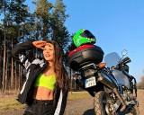 Mówi, że w jej żyłach płynie benzyna. Przepiękna motocyklistka z Międzyrzecza Dominika Orlik zakończyła sezon