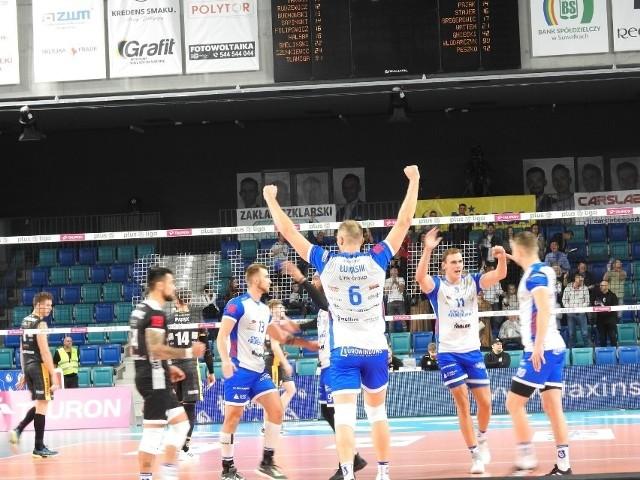 W poprzednim meczu Ślepsk Malow pokonał LUK Lublin 3:0