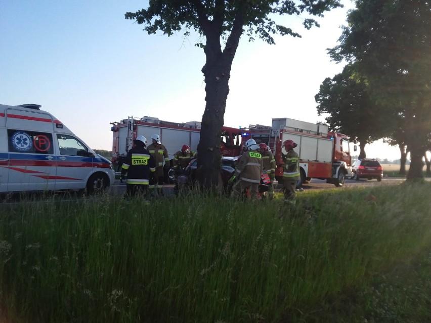 Śmiertelny wypadek na drodze krajowej 22 w Jeziorkach 10.06.2021 r. Zginęła 24-letnia chojniczanka