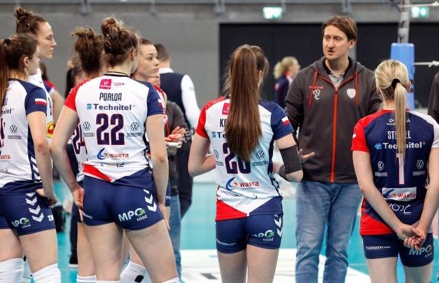Błażej Krzyształowicz i jego drużyna skupia się już na fazie play-off