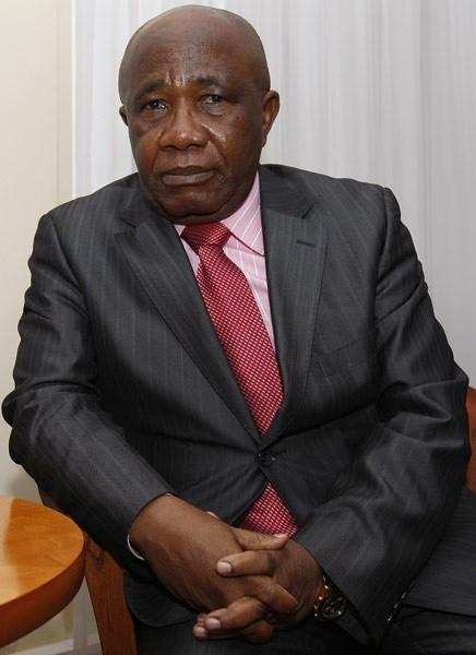 Philippe Elife Abombo, charge d'affaires ambasady Demokratycznej Republiki Konga w Polsce,