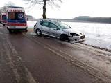 Kolonia Słoja. Wypadek w gminie Szudziałowo. Kierowca uderzył w drzewo (zdjęcia)