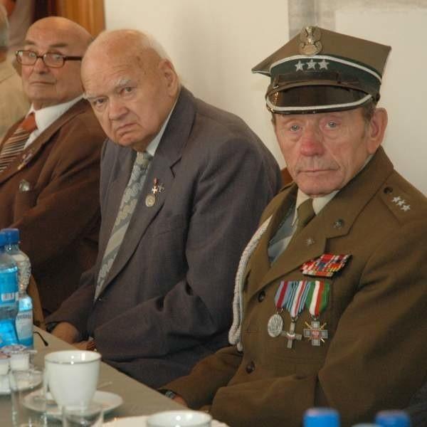 Kombatanci spotkali się z okazji dnia weterana.