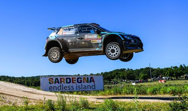 Łukasz Pieniążek awansował na szóstą lokatę w WRC 2 w Rajdzie Sardynii