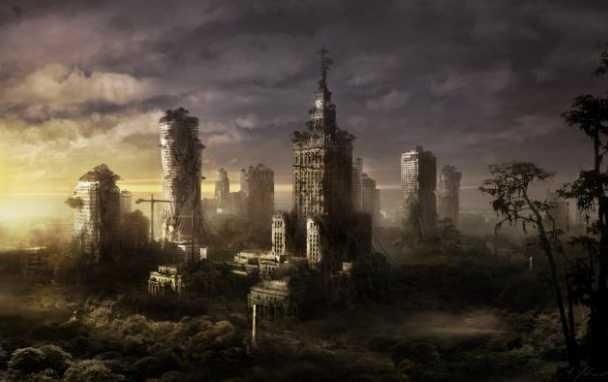 Zniszczone Katowice, zrujnowana Warszawa [NIESAMOWITE GRAFIKI]