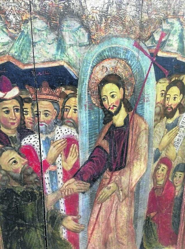 Ikona, datowana na drugą  połowę XVII wieku, związana jest z rejonem podkarpackim. Jest to obiekt rzadko spotykany na rynku sztuki. Pod koniec września zostanie pokazany w Muzeum Ikon.