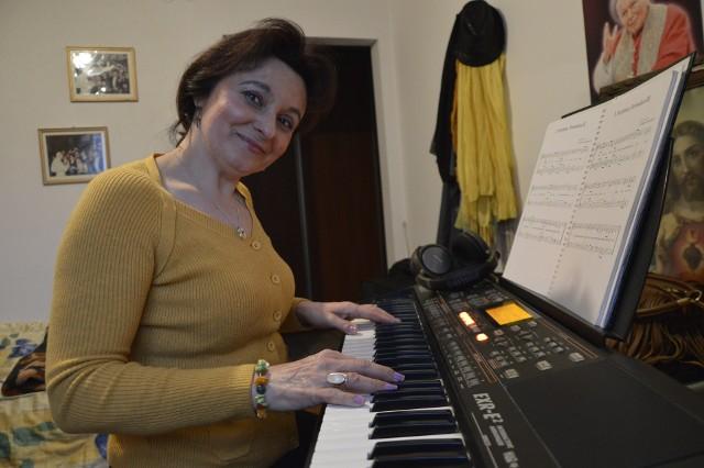 Joanna ciągle tworzy nowe utwory. Ma materiał na nową płytę z muzyką chrześcijańską