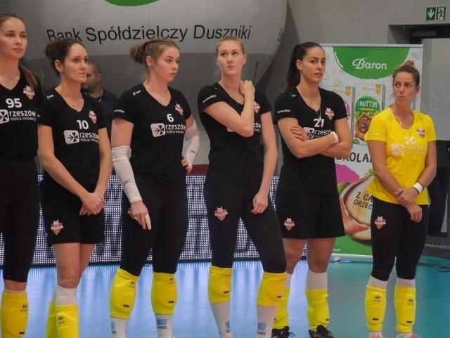 Developres Rzeszów uległ rywalkom w turnieju w Szamotułach.