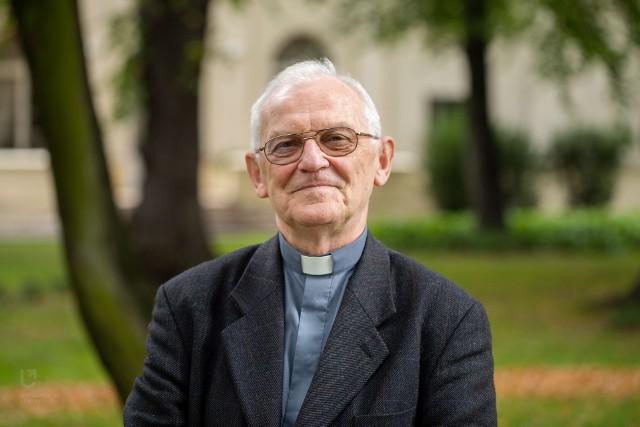 Na zdjęciu ks. prof. Andrzej Szostek
