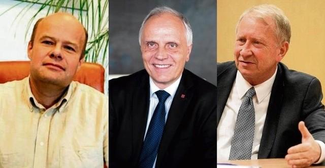 Prof. Zbigniew Błocki, prof. Andrzej Jajszczyk, prof. Michał Karoński
