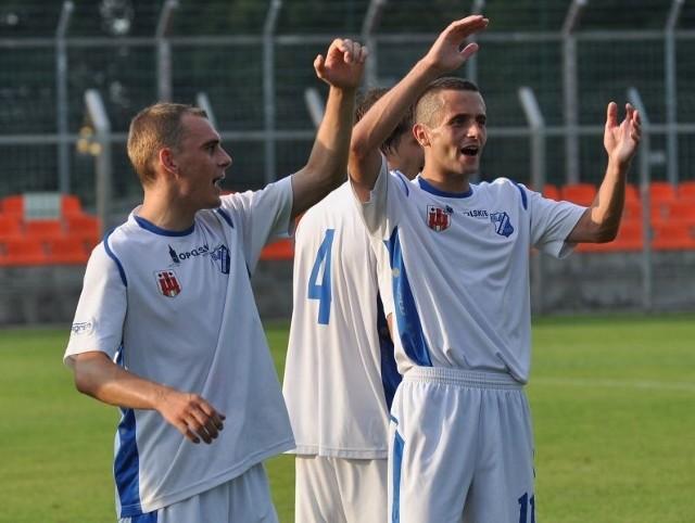 Rafał Niziołek i Adam Orłowicz mogli po meczu fetować.