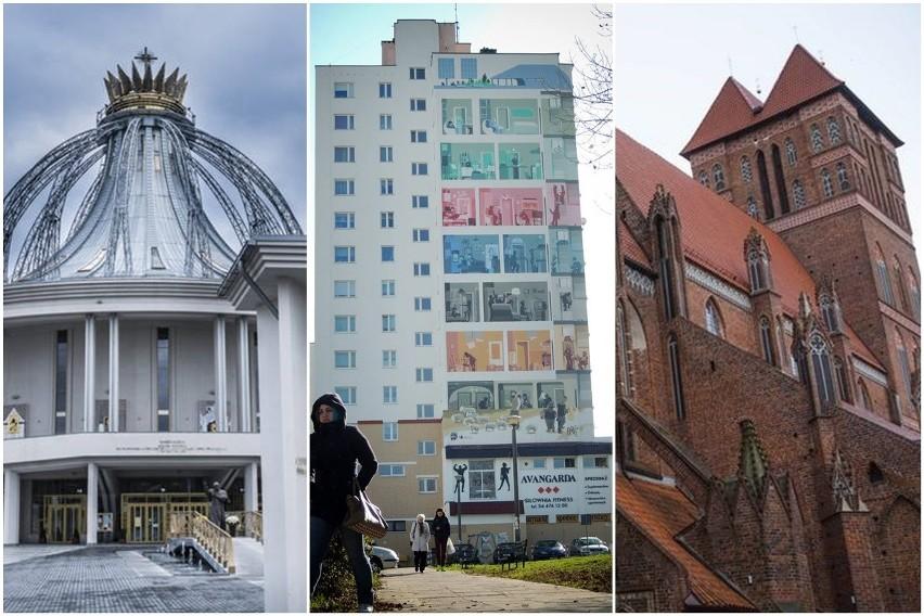 Jakie są najwyższe budynki w Toruniu? Ile metrów mierzą?...