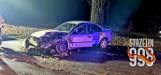 Na drodze Strzelin - Oława ciężarówka zderzyła się z samochodem osobowym. Dwie osoby zostały ranne [ZDJĘCIA]