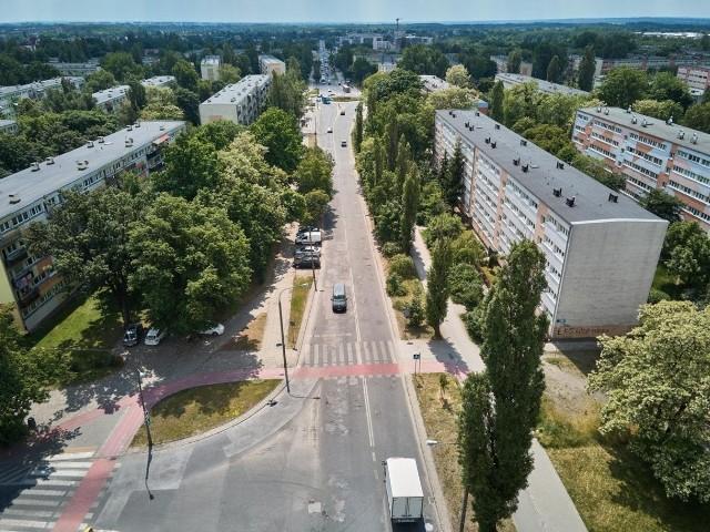 Przebudowany zostanie odcinek od ul. Aleksandrowskiej do ul. Rojnej.