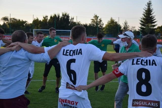 W 1/32 finału Totolotek Pucharu Polski piłkarze Lechii Zielona Góra zagrają ze Świtem Skolwin Szczecin.