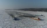 Kujawsko-Pomorskie. Lodołamacze uwolniły Wisłę z okowów lodu. Powodzi nie będzie