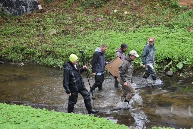 """Wyjątkowy spacer był ostatnim wydarzeniem w ramach """"Święta Rzeki Białej"""", projektu dofinansowanego z Budżetu Obywatelskiego."""