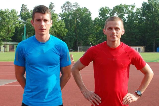 Krzysztof (z lewej) i Rafał przed olimpiadą trenowali m.in. w Strybskim Plesie, w słowackich Tatrach.