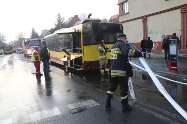 We wtorek po południu doszło do pożaru w fabryce Solarisa w Bolechowie, niedaleko Poznania (zdjęcie ilustracyjne)