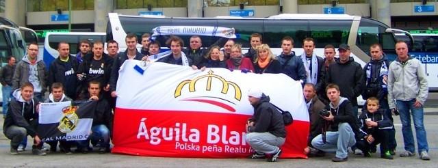 Jesteśmy polską peńią - oficjalnym stowarzyszeniem kibiców Realu Madryt.