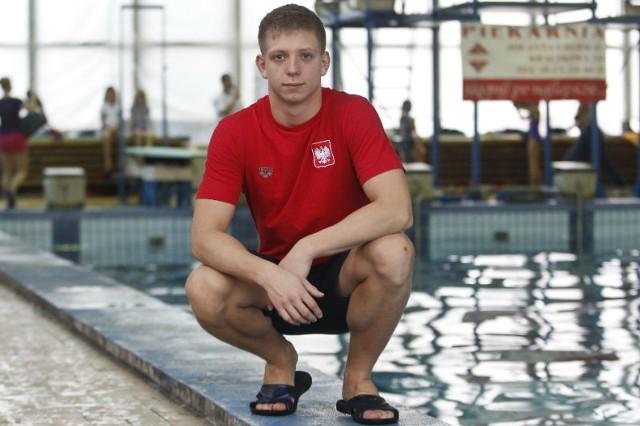 Kacper Lesiak jest dwukrotnym wicemistrzem Europy juniorów i w Poznaniu będzie próbował zdobyć kolejny medal
