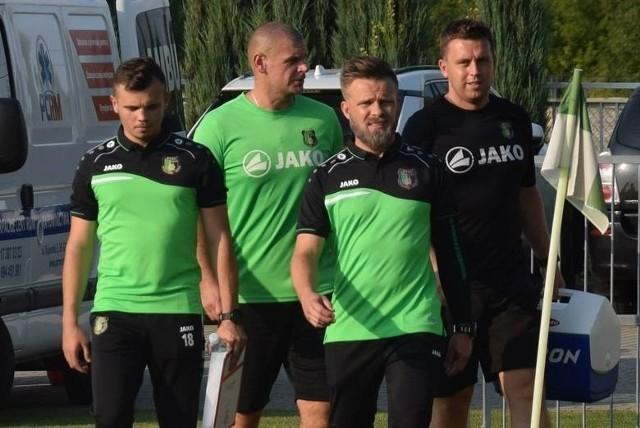 Trener Szymon Szydełko po spotkaniu chwalił postawę swoich podopiecznych