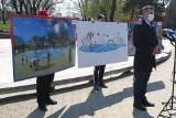 Marcin Warchoł przedstawił pomysł parku wodnego na rzeszowskich Bulwarach. W miejscu nieczynnej od lat fontanny