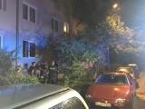 17-latek spadł z drugiego piętra bloku w Zielonej Górze. Chłopak siedział na parapecie