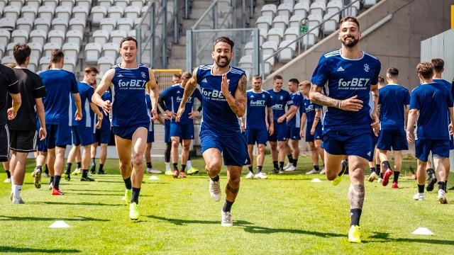 ŁKS Łódź już trenuje przed sezonem