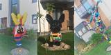 Nietypowe osiedle w Zielonej Górze Łężycy.  Kolorowe figury przy blokach, a na klatkach - graffiti.  Zobacz zdjęcia!