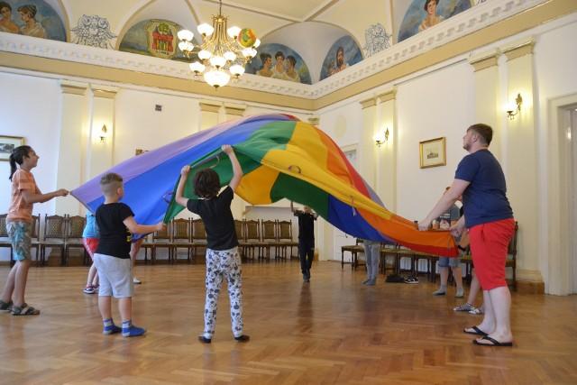 na dzieci w Miejskim Centrum Kulturalnym w Lipnie czeka mnóstwo atrakcji