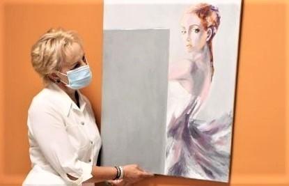 W Galerii Sztuki R w Ośrodku Radioterapii w Gorzowie swoje prace prezentuje zielonogórzanka Izabela Sak.