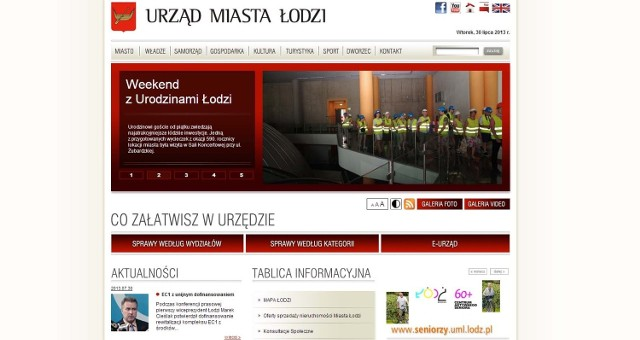 W czerwcu doszło do hakerskiego ataku na stronę www.uml.lodz.pl