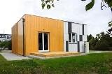 Najmniejszy dom niskoenergetyczny. Budynek ma tylko 50 mkw., czyli wielkość mieszkania